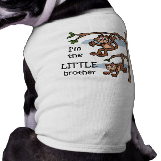 I'm the Little Brother dog t-shirt
