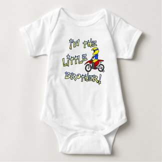 I'm the Little Brother Motocross Clothing Baby Bodysuit