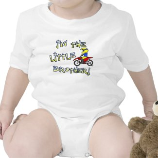 I'm the Little Brother Motocross Clothing Baby Bodysuits