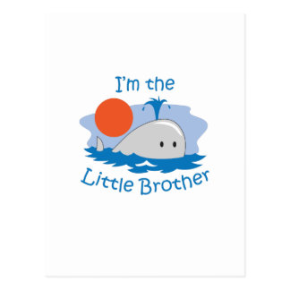 IM THE LITTLE BROTHER POSTCARD