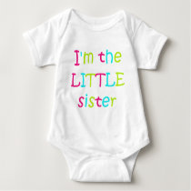 I'm the Little Sister Baby Bodysuit