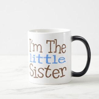 I'm The Little Sister (Blue) Magic Mug