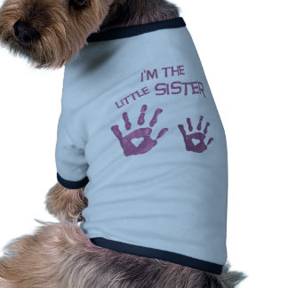 I'm the little sister dog tee shirt