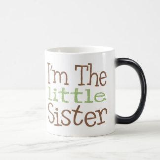 I'm The Little Sister (Green) Magic Mug