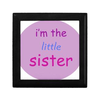 I'm the little sister keepsake box