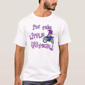 I'm the Little Sister Motocross Dark T Shirt