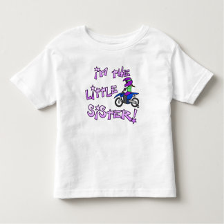 I'm the Little Sister Motocross T Shirt