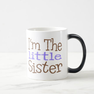 I'm The Little Sister (Purple) Magic Mug
