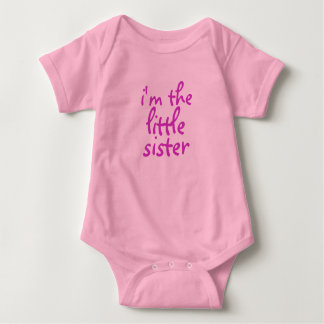 I'm the little sister. tees