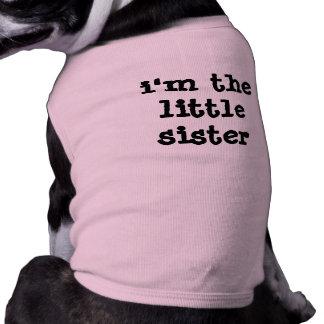 i'm the littlesister pet tee
