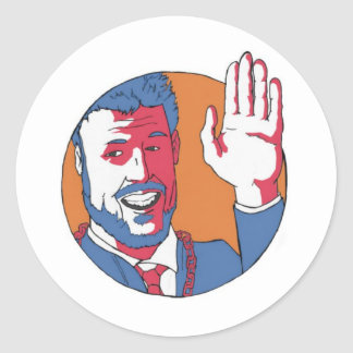 I'm the Mayor! Classic Round Sticker