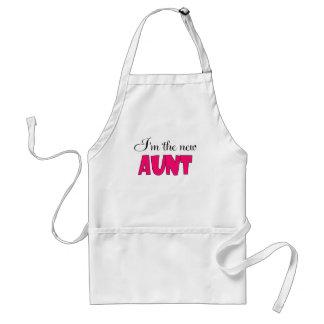 I'M THE NEW AUNT.png Adult Apron
