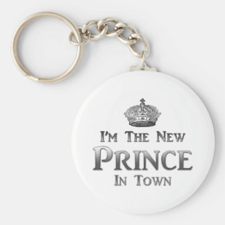I'm The New Prince In Town Keychain