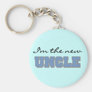 I'm the New Uncle Tshirts and Gifts Keychain