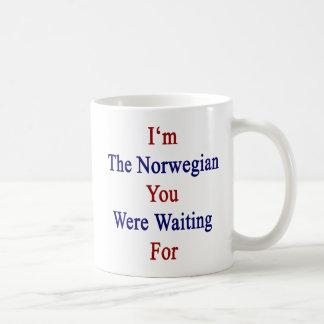 I'm The Norwegian You Were Waiting For Coffee Mug