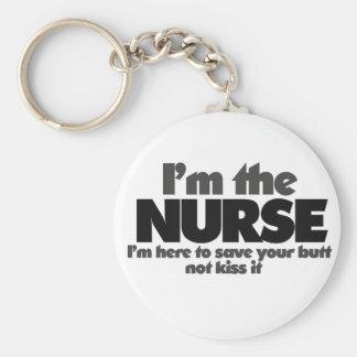 I'm the Nurse Key Chains