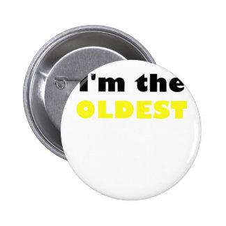 Im the Oldest 2 Inch Round Button