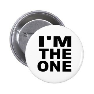 I'm the one - Single 2 Inch Round Button