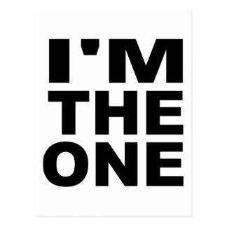 I'm the one - Single Postcard