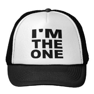 I'm the one - Single Trucker Hat