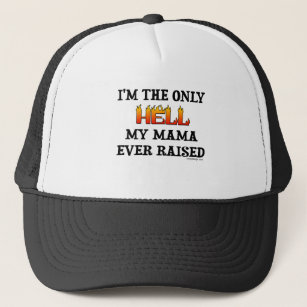 3c9a527c5 Mama Girl Hats & Caps   Zazzle