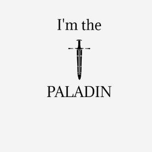 Paladin t shirts shirt designs zazzle im the paladin t shirt colourmoves