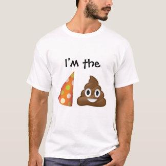 I'm the party pooper emoji T-shirt