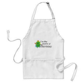 Im The Queen Of Everything Adult Apron
