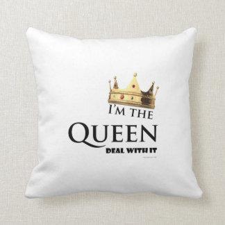 I'm the Queen Throw Pillow