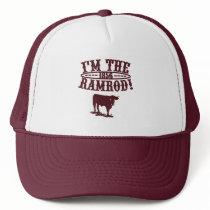 I'm The RAMROD! 1856 Brick Red Trucker Hat