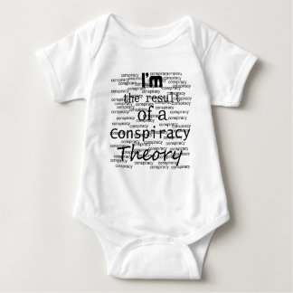 I'm the result of a Conspiracy Theory Baby Bodysuit