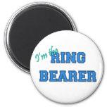 I'm The Ring Bearer Fridge Magnets