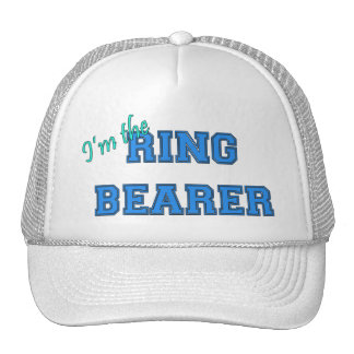 I'm The Ring Bearer Trucker Hat
