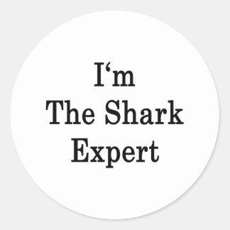 I'm The Shark Expert Sticker