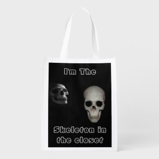 I'm The Skeleton In The Closet Double Sided Bag Grocery Bags