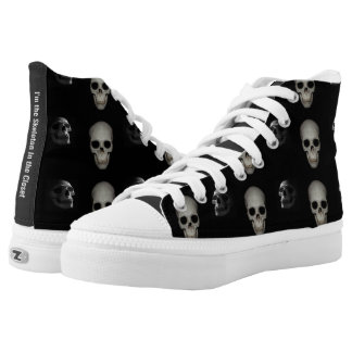 I'm the Skeleton in the Closet High-Top Sneakers