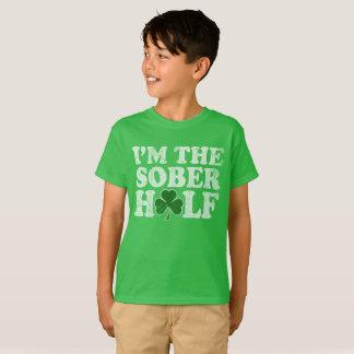 I'm The Sober Half St Patrick's Day T-Shirt
