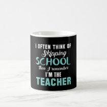 I'm the teacher coffee mug