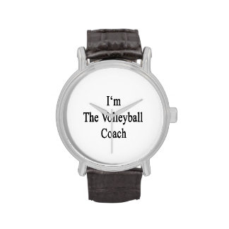 I'm The Volleyball Coach Wristwatch