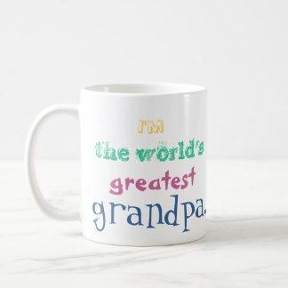 I'm the world's greatest grandpa. mug