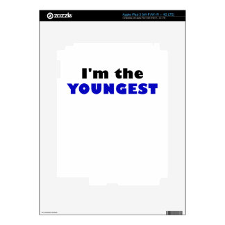 Im the Youngest iPad 3 Skin