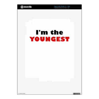 Im the Youngest Skins For The iPad 2