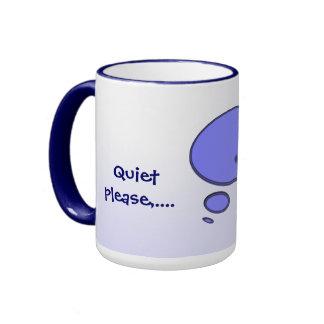 I'm Thinking Ringer Coffee Mug