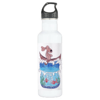 i'm thirsty stainless steel water bottle