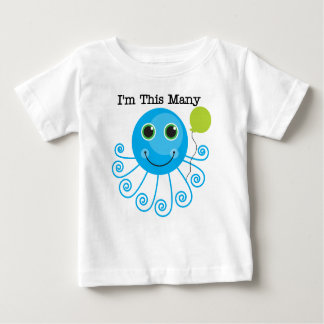 I'm This Many - One Baby T-Shirt