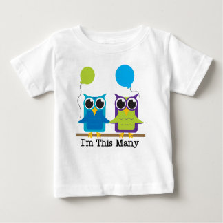 I'm This Many -Two! Baby T-Shirt