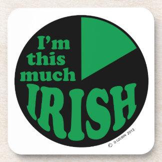 I'm This Much Irish Drink Coaster