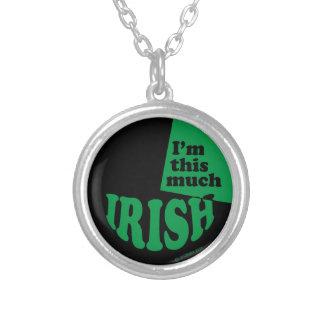 I'm This Much Irish Custom Jewelry