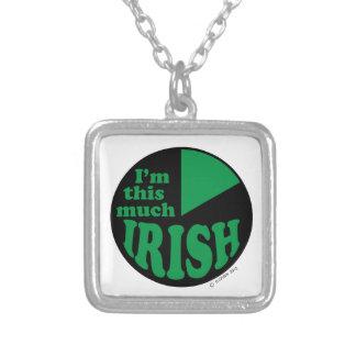 I'm This Much Irish Pendants