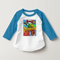 I'm Three Comic Book T-Shirt